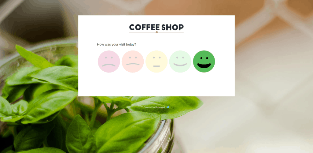 survey with smileys