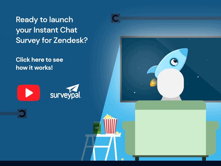 Surveypal Instant Survey for Zendesk Chat
